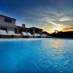 Abendsonne bei der Villa Eufemija