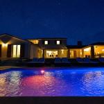 Sternenhimmel über der Villa Eufemija